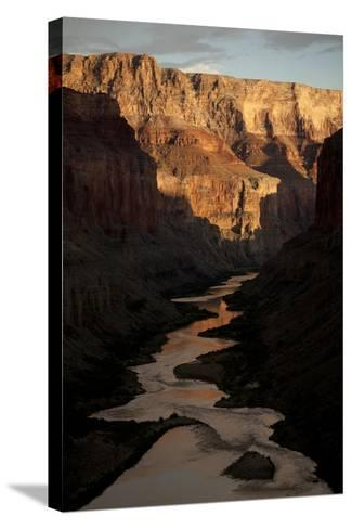 The Colorado River from the Ancient Ruins at Nankoweap Canyon, Grand Canyon Np-Aaron Huey-Stretched Canvas Print