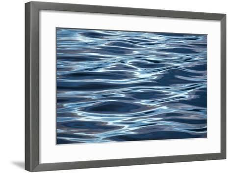 Reflections on the Waters of the Inside Passage, Alaska-Michael Melford-Framed Art Print