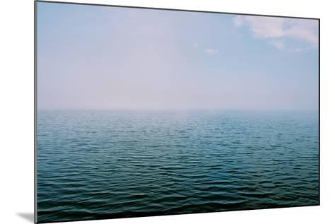 The Surface of the Water Is Rippled across a Large Lake-Heather Perry-Mounted Photographic Print