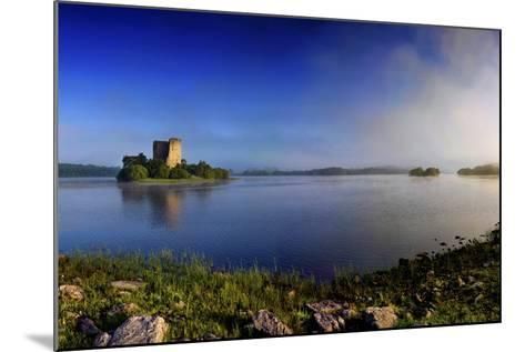 Cloughoughter Castle on Lough Oughter in County Cavan, Ireland-Chris Hill-Mounted Photographic Print