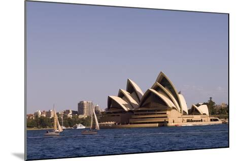 A View of the Sydney Opera House from across the Harbor-Sergio Pitamitz-Mounted Photographic Print