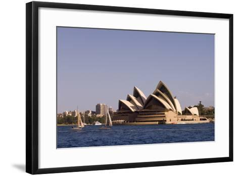 A View of the Sydney Opera House from across the Harbor-Sergio Pitamitz-Framed Art Print
