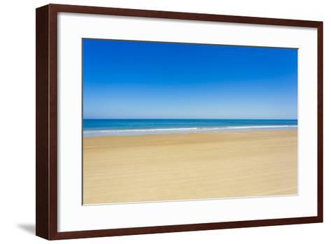 A Pristine Beach at Cabo Polonio, Accessible Only by Four-Wheel Drive Vehicles-Mike Theiss-Framed Art Print