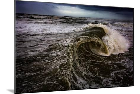 Rough Waves Break Just Off the Outer Banks in North Carolina-Chris Bickford-Mounted Photographic Print