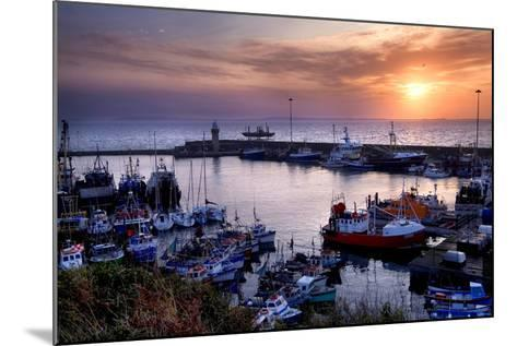 Dunmore East Harbor in Waterford, Ireland-Chris Hill-Mounted Photographic Print