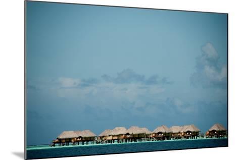 Vacation Cottages over Water on Bora Bora-Karen Kasmauski-Mounted Photographic Print