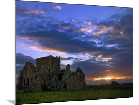 Sunset at Hore Abbey in Tipperary-Chris Hill-Mounted Photographic Print