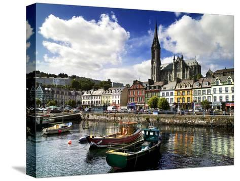 Cobh Harbour, County Cork, Ireland-Chris Hill-Stretched Canvas Print