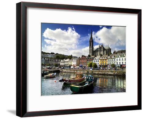 Cobh Harbour, County Cork, Ireland-Chris Hill-Framed Art Print