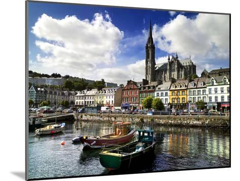 Cobh Harbour, County Cork, Ireland-Chris Hill-Mounted Photographic Print