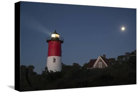 Nauset Light, Eastham, Cape Cod, Massachusetts-Michael Melford-Stretched Canvas Print