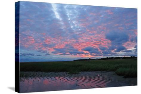 Sunrise at the Payne's Creek Intertidal Zone-Darlyne A^ Murawski-Stretched Canvas Print