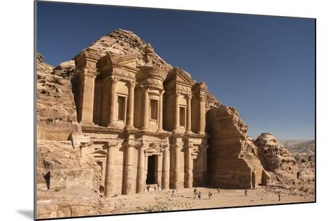 The Monastery, or Al Deir, in Petra-Michael Melford-Mounted Photographic Print