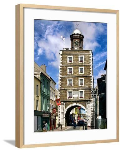 The Georgian Clock Tower in Youghal, County Cork-Chris Hill-Framed Art Print