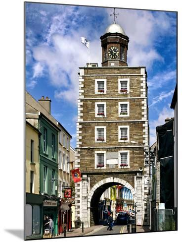 The Georgian Clock Tower in Youghal, County Cork-Chris Hill-Mounted Photographic Print