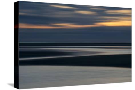 Rock Harbor, Orleans, Cape Cod at Sunset-Michael Melford-Stretched Canvas Print