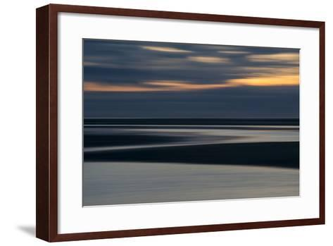 Rock Harbor, Orleans, Cape Cod at Sunset-Michael Melford-Framed Art Print