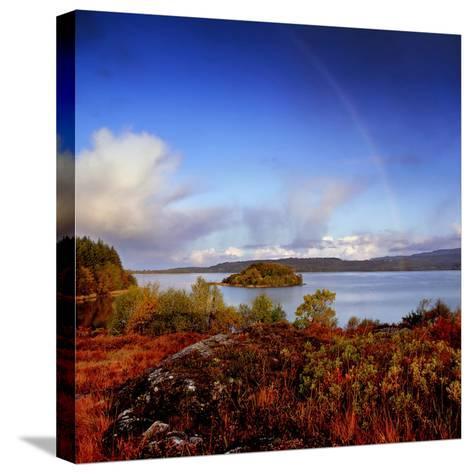 Inishfree Island in Lough Gill, County Sligo, Ireland-Chris Hill-Stretched Canvas Print