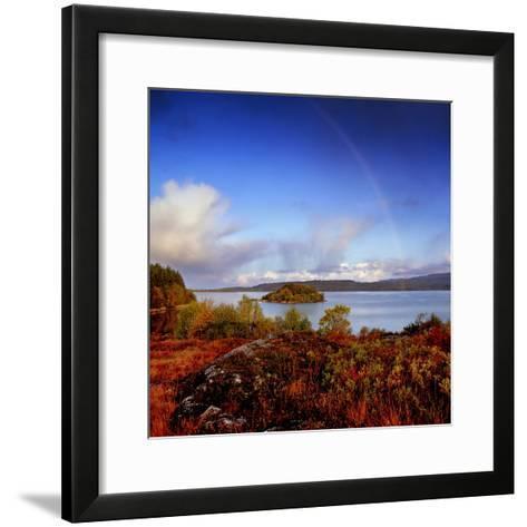 Inishfree Island in Lough Gill, County Sligo, Ireland-Chris Hill-Framed Art Print