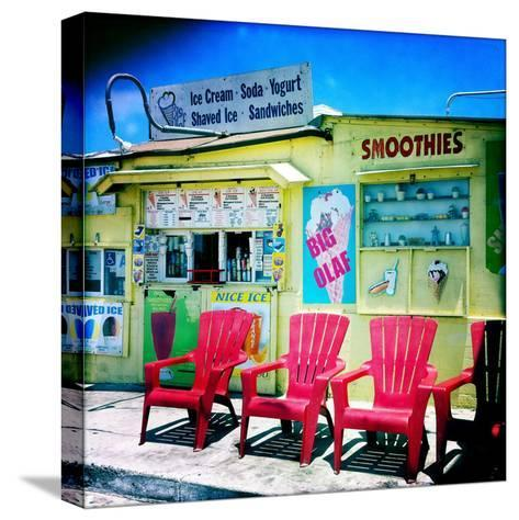 An Ice Cream Stand-Skip Brown-Stretched Canvas Print