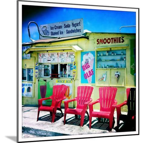 An Ice Cream Stand-Skip Brown-Mounted Photographic Print