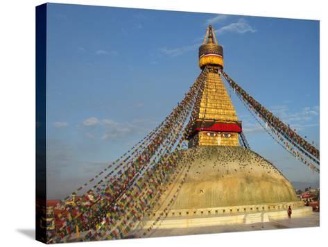 The Bodhnath Stupa in Kathmandu-Martin Gray-Stretched Canvas Print