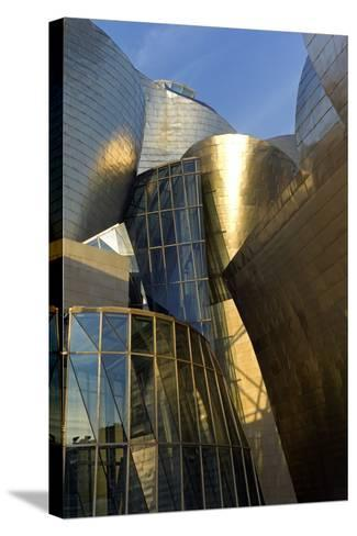 The Guggenheim Museum in Bilbao-Tino Soriano-Stretched Canvas Print