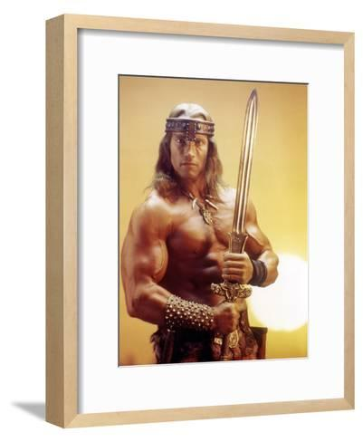 Conan the Destroyer, Arnold Schwarzenegger, by Richard Fleischer with, 1984--Framed Art Print