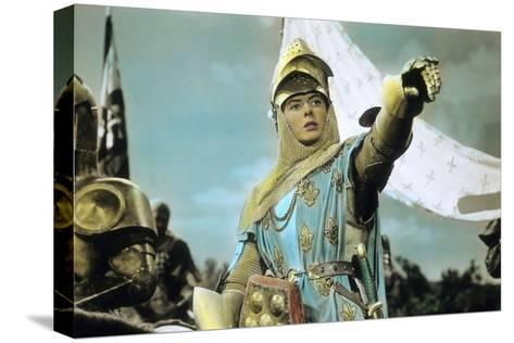 Joan of Arc by Victor Fleming with Ingrid Bergman, 1948--Stretched Canvas Print