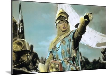 Joan of Arc by Victor Fleming with Ingrid Bergman, 1948--Mounted Photo