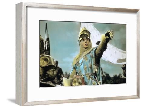 Joan of Arc by Victor Fleming with Ingrid Bergman, 1948--Framed Art Print