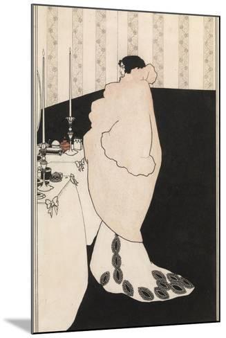 La Dame Aux Camelias-Aubrey Beardsley-Mounted Giclee Print