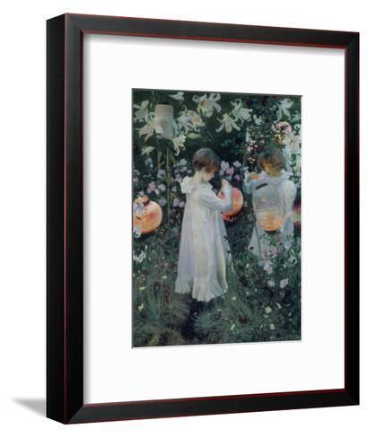 Carnation, Lily, Lily, Rose-John Singer Sargent-Framed Art Print