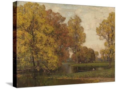 Golden Autumn-Sir Alfred East-Stretched Canvas Print