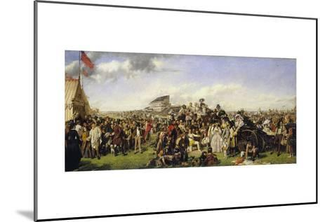 The Derby Day-William Powell Frith-Mounted Giclee Print