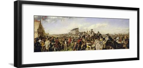 The Derby Day-William Powell Frith-Framed Art Print