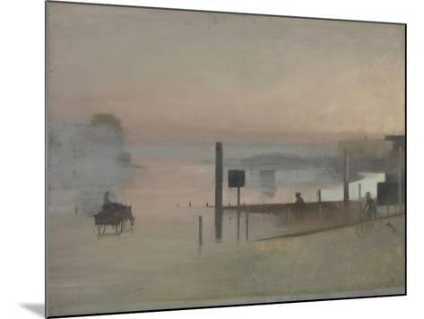 The Quiet River: the Thames at Chiswick-Victor Pasmore-Mounted Giclee Print