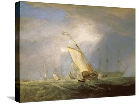 Van Tromp Returning after the Battle Off the Dogger Bank-J^ M^ W^ Turner-Stretched Canvas Print