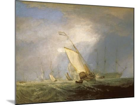 Van Tromp Returning after the Battle Off the Dogger Bank-J^ M^ W^ Turner-Mounted Giclee Print
