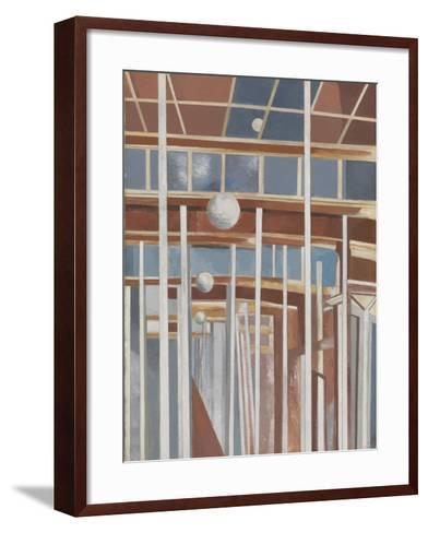 Voyages of the Moon-Paul Nash-Framed Art Print