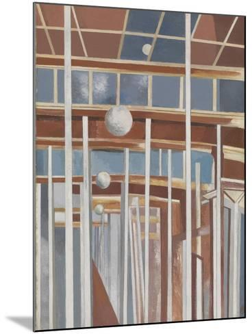 Voyages of the Moon-Paul Nash-Mounted Giclee Print