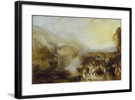 The Opening of the Wallhalla, 1842-J^ M^ W^ Turner-Framed Art Print