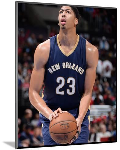 New Orleans Pelicans v Los Angeles Clippers-Andrew D Bernstein-Mounted Photo