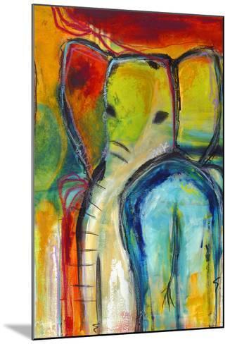 Elephant-Jami Vestergaard-Mounted Art Print