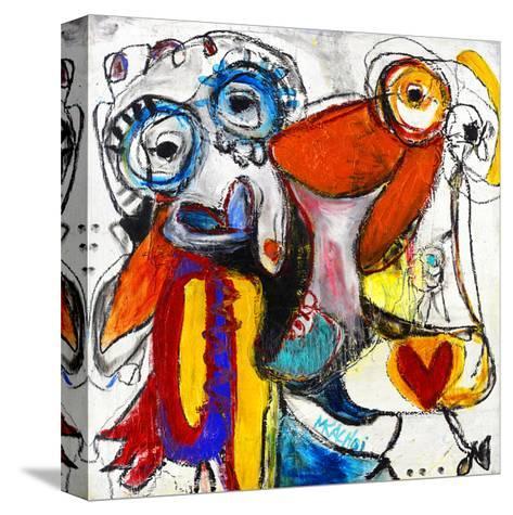 Friends-Martin Kalhoej-Stretched Canvas Print