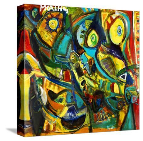 Catch Me If You Can-Martin Kalhoej-Stretched Canvas Print