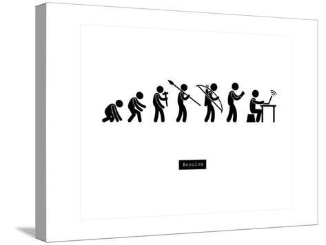 #Evolve--Stretched Canvas Print