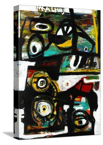 Eye Study-Martin Kalhoej-Stretched Canvas Print