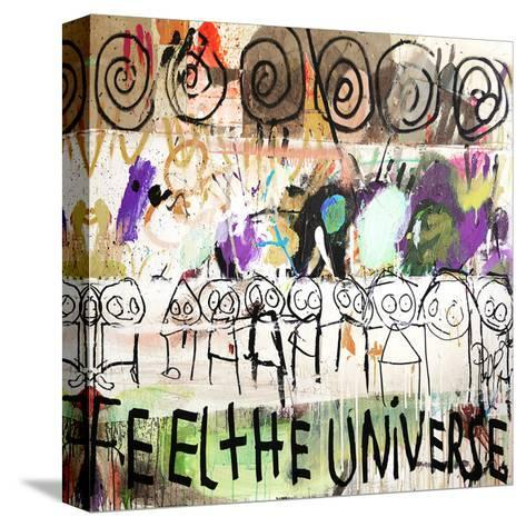 Feel the Universe-Poul Pava-Stretched Canvas Print