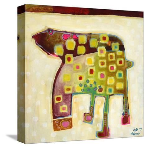 Look at My Footprints-Susse Volander-Stretched Canvas Print